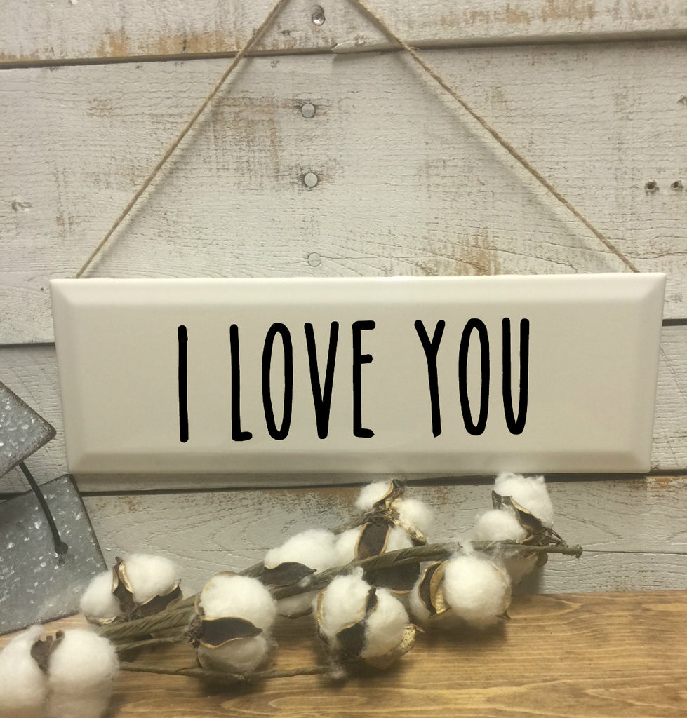 I Love You Sign-Home and Living-Wall Decor-Home Decor-Home Decor Sign