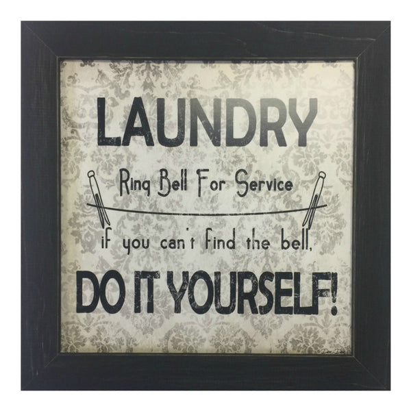 Laundry Do it yourself Framed Print