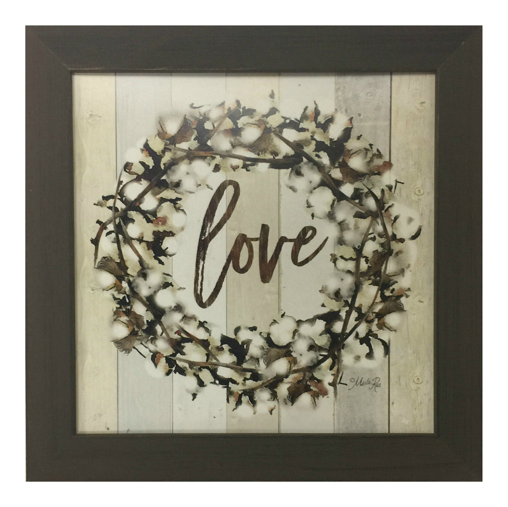 Farmhouse Love Framed Art