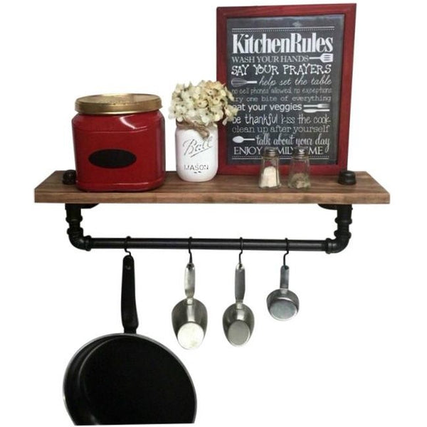 Handmade Kitchen Shelf - Industrial Shelf - kitchen shelf