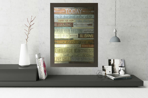 Today is a brand new day Wall Decor