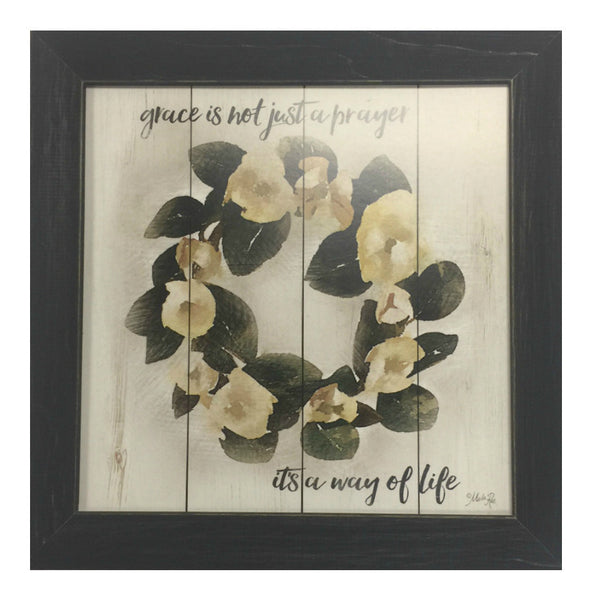 Grace, It's a way of Life Framed Inspirational Print