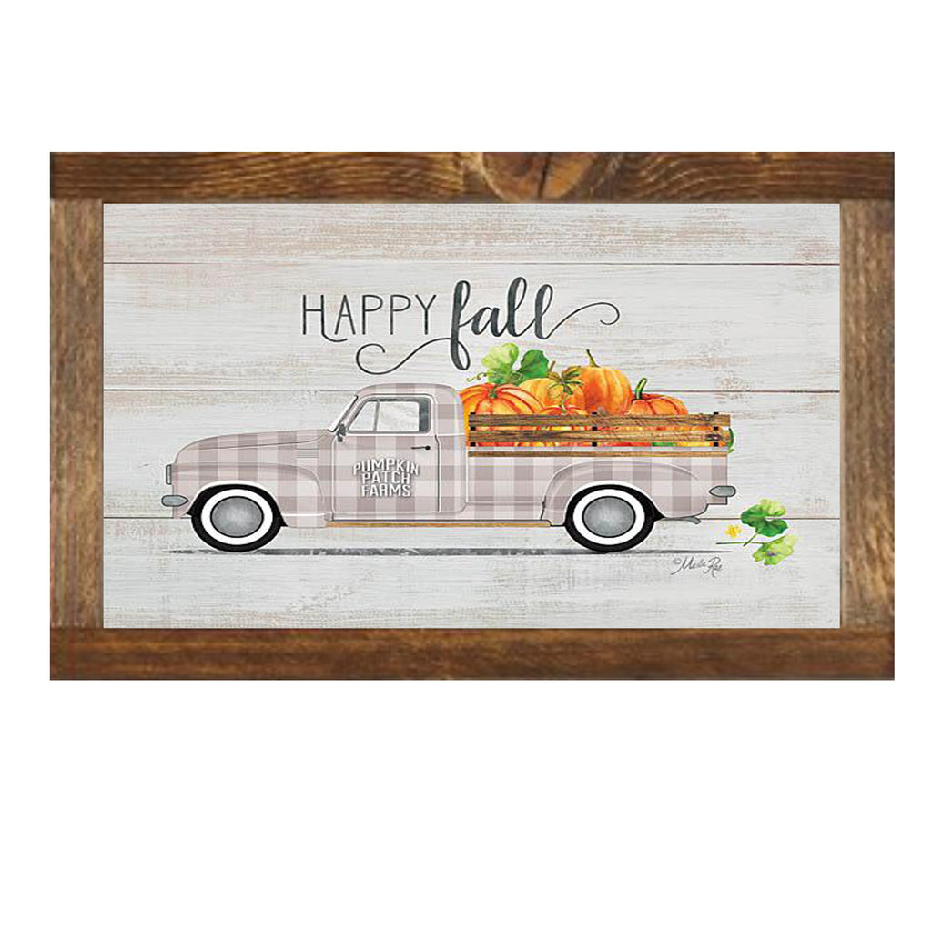 HAPPY FALL VINTAGE TRUCK
