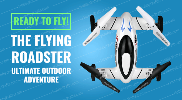 Flying Roadster Drone