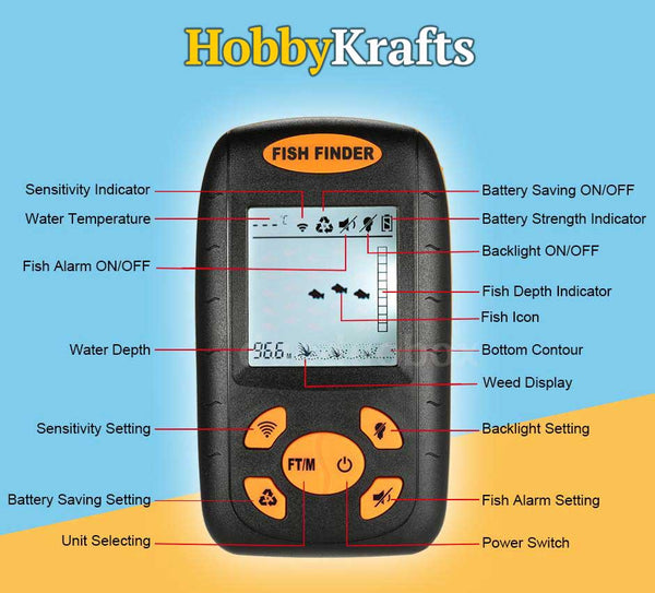 Fish Finder LCD