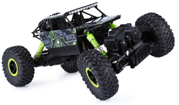 Green RC Truck Close UP