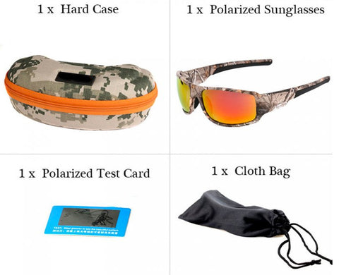 What's included sunglasses