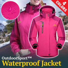 OutdoorSport™ Waterproof Women's Jacket