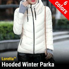 Loretta Womens Winter Parka Jacket