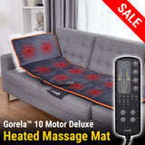 Gorela™ Massage Mat & Heating Pad with 10 Vibrating Motors