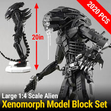 1:4 Scale Xenomorph 2020 PCS Model Set Designed by the Arvo Brothers