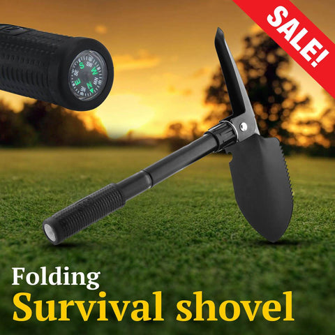 Folding Survival shovel