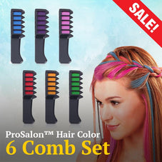 ProSalon™ Hair Color 6 Comb Set