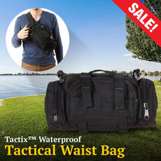 Tactix™ Waterproof Tactical Waist Bag
