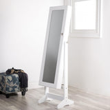Elle™ Jewelry Cabinet Mirror with LED Lights