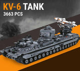 Replica World War Tank Building Block Collection