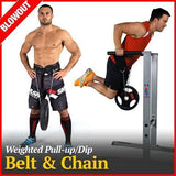Pull-up/Dip Belt with Chains