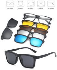 DALIO™ 5-in-1 Magnetically Interchangeable & Polarized UV400 Sunglasses (3 styles)