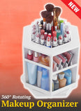 360° Rotating Makeup Organizer