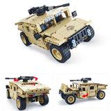 502 Pcs Remote Controlled US ARMY HumVee Building Block Set