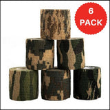 6 Pack Waterproof Camouflage Stealth Tape