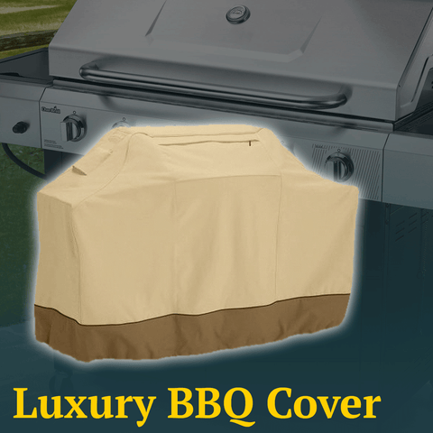 Protective BBQ Cover w/ Storage Pocket