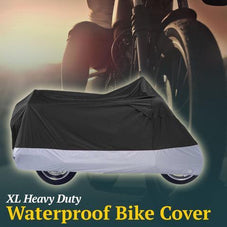 All Season Waterproof Dustproof UV Protective Motorcycle Cover