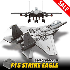 F15 Eagle Fighter Block Set - 244 PCS