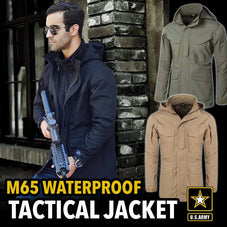 M65 Army Multi-Pocket Tactical Jacket w/ Removable Hood & More