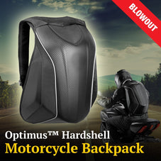 Optimus™ Hardshell Motorcycle Backpack