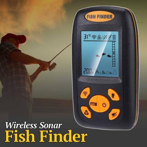 Wireless LCD Sonar Fish Finder