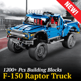 1288PCS Limited Edition F-150 Raptor 4x4 Building Block Set