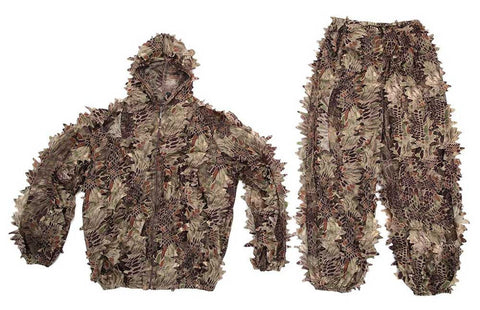 Snake Print Ghillie Suits - 3 Colors to choose from!