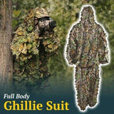 The Original 3D Leaf Camouflage Ghillie Suit - 2 Piece