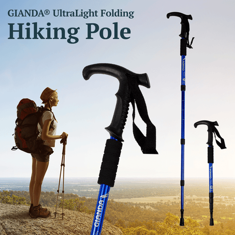 GIANDA® Professional Ultra Light Collapsible Hiking Poles