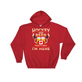 Canadian Hockey & Beer Hooded Sweatshirt