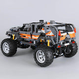 1132 pc [2-in-1] Off Roader/Buggy 4x4 Block Set w/ working Motor + Lights []