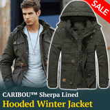 Caribou™ Sherpa Lined Mens Winter Jacket
