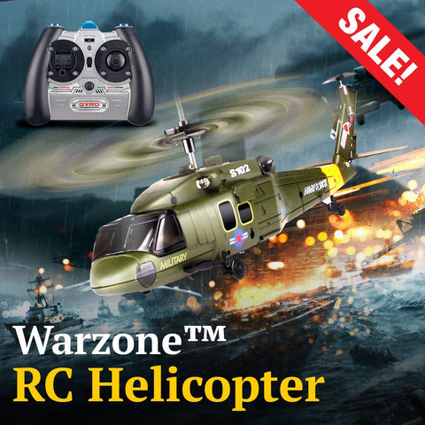 Warzone™ RC Assault Chopper