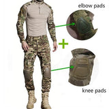 G3 Combat Tactical Camo Suit with Knee/Elbow Padding