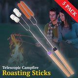 Campfire Roasting Sticks (5 pack)