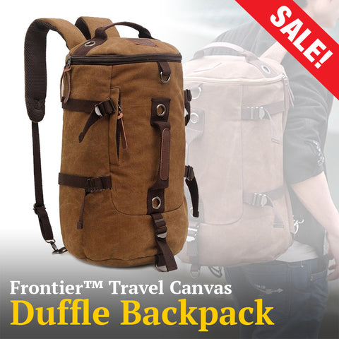 Frontier™ Travel Canvas Duffle/Backpack