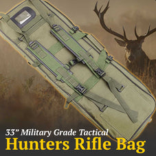 "33"" Military Grade Tactical Hunting Rifle Bag"