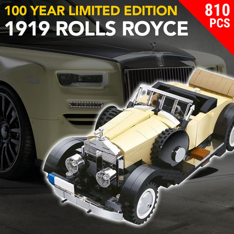 100 Year Limited Edition 1919 Rolls-Royce Springfield Silver Ghost - 810PCS