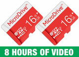 MicroDrive 16GB  Highspeed MicroSD TF Card (with adapter)