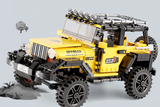 512 PC 4X4 Off-Road Building Block Set
