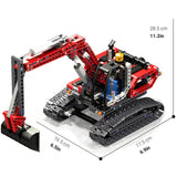 New 760 Piece Excavator Block Set