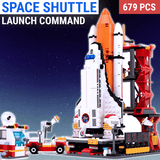 679PCS Space Shuttle Launch Center Block Set
