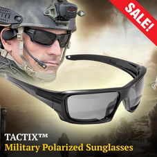 TACTIX™ Military Polarized Sunglasses