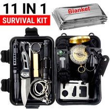 Tactix™ 11 in 1 Emergency Survival Kit